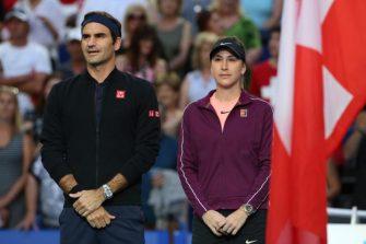 Bencic: Ojalá Roger y yo podamos jugar juntos en los Juegos Olímpicos