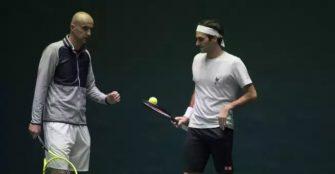Ljubicic: Las cosas con Roger van bien, entrena cada vez más y mejor