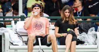 """Zverev responde ante las acusaciones de Olya Sharypova: """"Todo es mentira"""""""