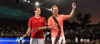 Rafael Nadal comienza el año con triunfo ante Dominic Thiem