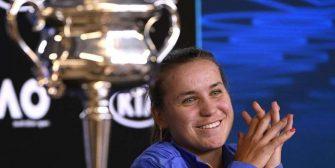 Kenin: Creo que le pediré consejo a Djokovic para defender mi título en Australia