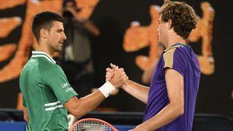 Fritz pone en duda la lesión de Djokovic