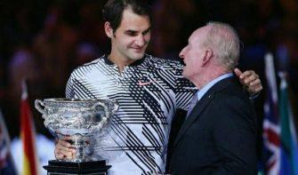 Laver: Federer tiene récords para asegurar ser el mejor de la historia