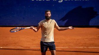 Paire reafirma su falta de amor por el tenis