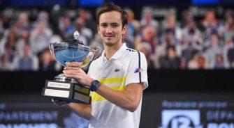 Medvedev, Garín y Basilashvili, los campeones de la semana