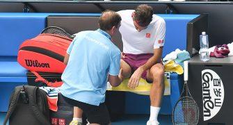 Federer revela el motivo de su segunda cirugía