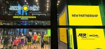 La ATP y Tennis Point lanzarán una tienda virtual de productos tenísticos