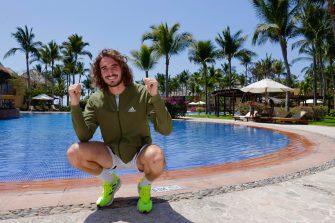 """Stefanos Tsitsipas: """"Estamos felices de estar en Acapulco"""""""