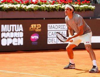 Federer dirá presente en Madrid junto a Djokovic y Nadal; Barty también estará