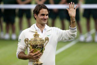 Federer subastará recuerdos de sus 20 Grand Slam para su fundación
