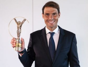 Rafa Nadal, premio Laureus al mejor deportista mundial del año