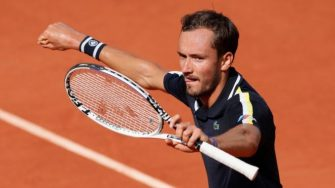 Medvedev podría salir como numero uno de Roland Garros