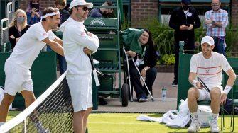 Murray tras entrenarse con Federer: Lo valoro más que antes