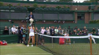 Tomljanovic y Ostapenko intercambian fuertes palabras en Wimbledon