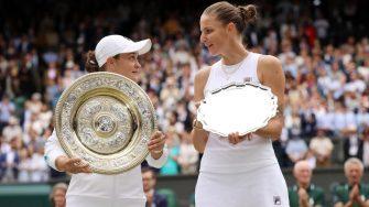 """El """"milagro"""" de Barty para ganar Wimbledon, y el """"sueño"""" de Pliskova sigue vivo"""