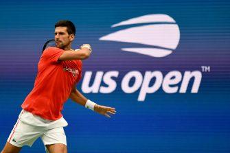 Djokovic ya se prepara para su Slam 21 en el US Open (VIDEO)