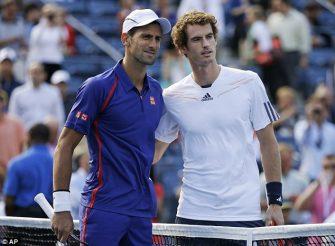 Entrenan juntos: Djokovic y Murray se topan en el US Open (FOTOS)