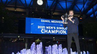 """Putin a Medvedev tras ganar el US Open: """"Así juegan los campeones"""""""